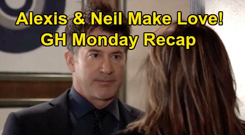 General Hospital Spoilers: Monday, March 9 Recap - Alexis & Neil Make Love - Diane Wants Michael To Marry - Finn Moves Back In With Anna
