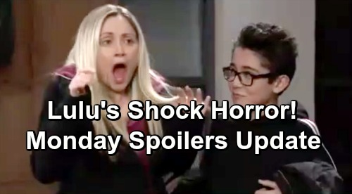 General Hospital Spoilers: Monday, February 18 Update – Lulu's Shocking Horror – Franco's Huge Mistake - Alexis' Awkward Encounter