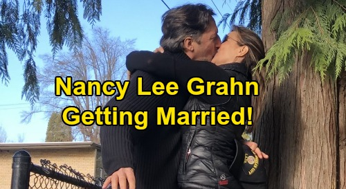 General Hospital Spoilers: Nancy Lee Grahn's Engagement News – Getting Married, Shares Adorable Pic with Soon-To-Be Husband