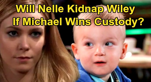 General Hospital Spoilers : Will Nelle Kidnap Wiley if Michael Wins Custody Battle ?