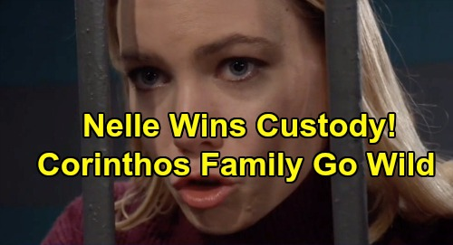 General Hospital Spoilers: Nelle's Custody Win Sparks Corinthos Family War – Battle Over Wiley Out of Control?