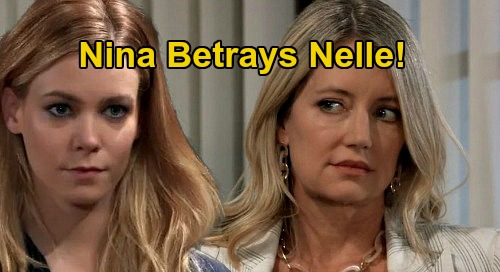 General Hospital Spoilers: Nina Betrays Nelle At Wiley Custody Hearing - Bio-Daughter Revenge After Being Stabbed In The Back?