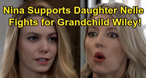 General Hospital Spoilers: Nina Sabotages Michael's Custody Case, Supports Bio Daughter Nelle – Fights for Grandson Wiley?