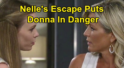 General Hospital Spoilers: Nelle Plots Revenge and Escape - Will She Kidnap Baby Donna To Punish Carly?