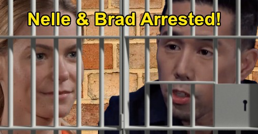 General Hospital Spoilers: Brad and Nelle Arrested - Wiley Baby Swappers Stuck in Jail After Lucas Reveal