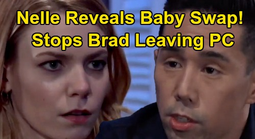 General Hospital Spoilers: Nelle Drops Baby Swap Bomb, Stops Brad From Leaving Town With Jonah - Wiley Truth FINALLY Exposed