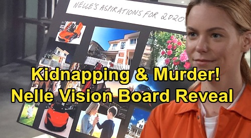 General Hospital Spoilers: Nelle's Kidnapping and Murder Plans Revealed - Sinister Vision Board Explained