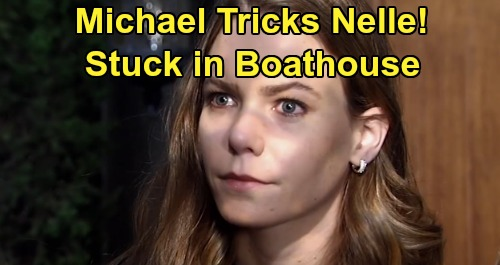 General Hospital Spoilers: Michael Tricks Nelle, Sticks Baby Mama in Quartermaine Boathouse – Miserable Schemer's Dark Side Explodes