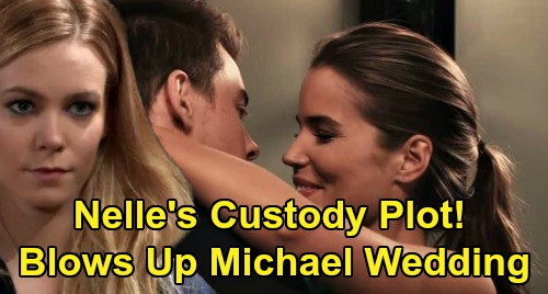 General Hospital Spoilers: Nelle's Wedding Sabotage – Blows Up Michael's Marriage to Sasha?
