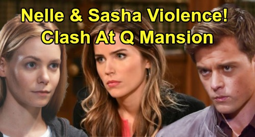 General Hospital Spoilers: Nelle and Sasha Hostile Houseguests, Battle At Quartermaine Mansion – Michael Fears Violent Outcome