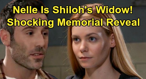 General Hospital Spoilers: Nelle Is Shiloh's Widow - Memorial Announcement - Carly Explodes, Brad Panics and Willow Worries