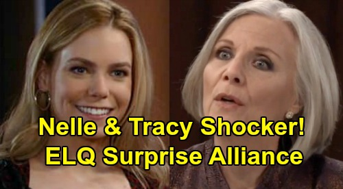 General Hospital Spoilers: Tracy and Nelle's Dangerous Alliance – ELQ Agendas Collide, Someone's Bound to Get Burned?