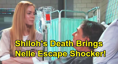 General Hospital Spoilers: Shiloh's Death Means New Plan For Nelle - Turns To Ryan For Desperate Escape