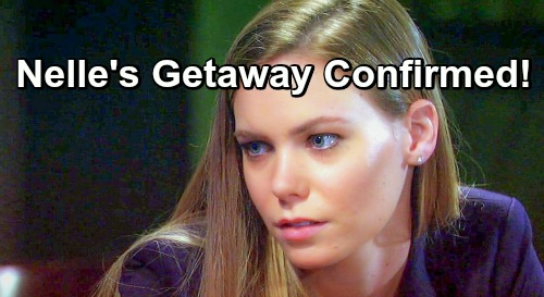 General Hospital Spoilers: Nelle's Getaway Confirmed - Fakes Medical Crisis, Brad Visits Fellow Baby Swapper