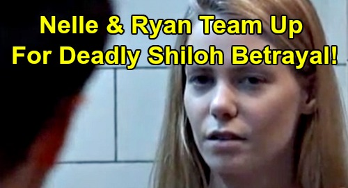 General Hospital Spoilers: Nelle's Deadly Betrayal – Shiloh No Match for Ryan and Twisted Baby Mama