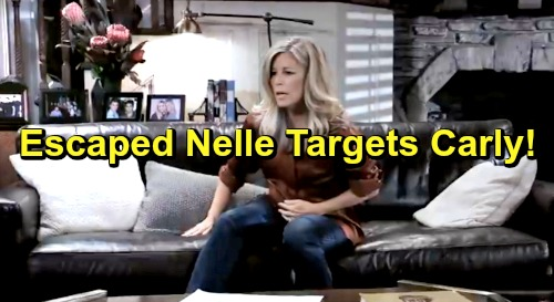 General Hospital Spoilers: Fugitive Nelle Targets Pregnant Carly – Can't Have Jonah, Won't Let Carly Have Her Baby Either
