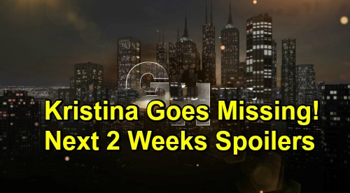 General Hospital Spoilers Next 2 Weeks: Kristina Goes Missing, Shiloh Confronts Jason – Anna's Child Bomb - Joss Faces The End