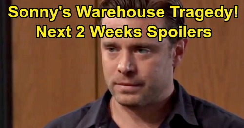 General Hospital Spoilers Next 2 Weeks: Sonny's Tragic Warehouse Crisis – Billy Miller's Exit - Valentin's Cassandra Mission