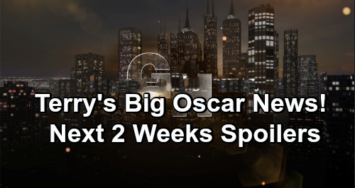 General Hospital Spoilers Next 2 Weeks: Terry's Big Oscar News – Drew and Julian Face Off – Liz Struggles to Protect Aiden