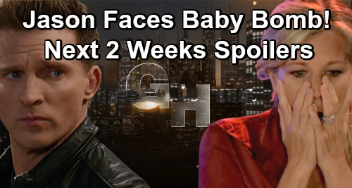 General Hospital Spoilers Next 2 Weeks: Jason Faces Carly's Baby Bomb – Maxie Helps Lulu Find Kidnapped Laura