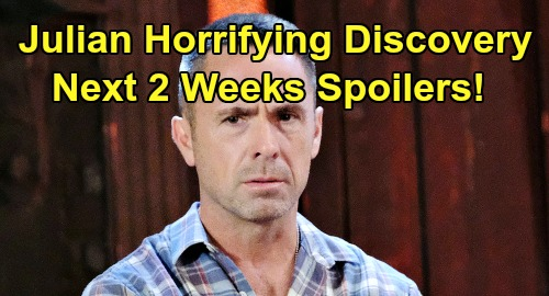 General Hospital Spoilers Next 2 Weeks: Julian's Horrifying Discovery, Alexis' Terrible Fate – Jason Shocks Ned – Hayden's Crushing Blow