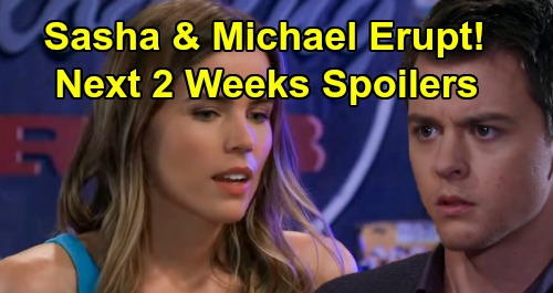 General Hospital Spoilers Next 2 Weeks: Sickness Strikes Alexis – Ava's Masked Man Reveal – Michael and Sasha Conflict Erupts