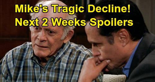 General Hospital Spoilers Next 2 Weeks: Cassandra's Awful Fate – Mike's Difficult Decline – Sam's Horrible News – Carly and Jax's Deal