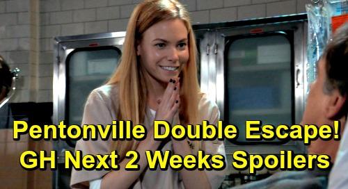 General Hospital Spoilers Next 2 Weeks: Pentonville Double Escape - Shiloh's Surprise Disciple – Sonny's Shocking New Alliance