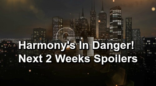 General Hospital Spoilers Next 2 Weeks: Harmony Needs Shiloh to Save Her – Carly's Baby Anxiety – Maxie Goes Rogue