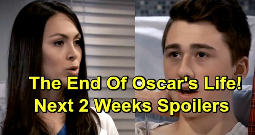 General Hospital Spoilers Next 2 Weeks: Oscar's Horrible Test Results, Teen's Life Evaporates - Jason Goes To War With Shiloh