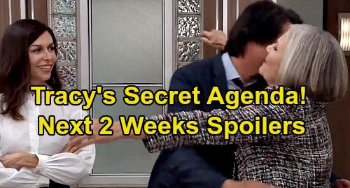 General Hospital Spoilers Next 2 Weeks: Tracy's Return Secret Agenda – JaSam Parole Disaster - Sonny Betrayed by Nik Reveal