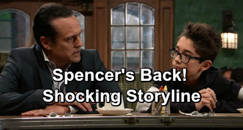General Hospital Spoilers: Nicolas Bechtel Back as Spencer – Scheming Cassadine Faces Surprises