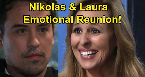 General Hospital Spoilers: Nikolas and Laura's Emotional Reunion, Guilt Brings the Truth – Cassadine's Softer Side Shines Through