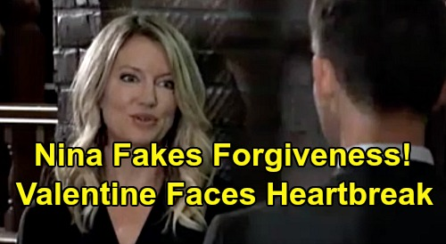 General Hospital Spoilers: Nina's Sneaky Revenge, Plays Valentin with Fake Forgiveness – Scheming Liar Set Up for Heartbreak?