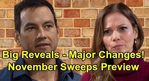 General Hospital Spoilers: Hot November Sweeps Preview – Explosive Big Reveals, New Romantic Shakeups, Sudden Danger and More