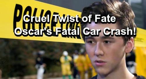 General Hospital Spoilers: Oscar's Shocking Twist of Fate – Car Crash Brings Death Sooner Than Expected?