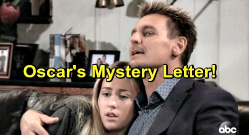 General Hospital Spoilers: Oscar's Surprise Mystery Letter Brings Josslyn Comfort and Courage – Final Words of Wisdom