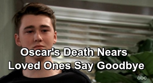 General Hospital Spoilers: Oscar's Death Draws Near – Health Setback Brings Grim Fate, Loved Ones Say Their Goodbyes