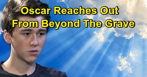 General Hospital Spoilers: Oscar's Not Done Yet, Reaches Out from Beyond the Grave – Memorial Service Surprises Ahead
