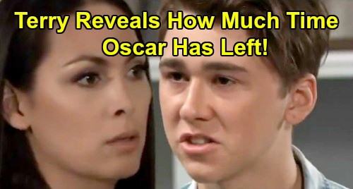 General Hospital Spoilers: Terry Reveals How Long Oscar Has Left To Live – Crushed Kim Spins Out