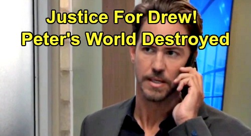 General Hospital Spoilers: Justice for Drew, Peter Must Pay – Robert and JaSam's Exposure Destroys Henrik's World