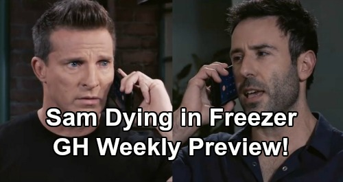 General Hospital Spoilers: Week of August 5 Preview - Sam's Life On The Line - Jason and Shiloh's Memory Mapping Drama Unfolds