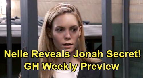 General Hospital Spoilers: Week of July 22 Preview - Nelle Reveals Jonah Secret to Michael - CarSon Scary Baby Updates
