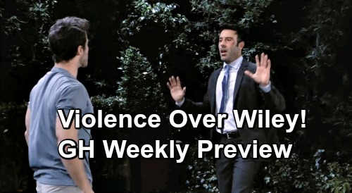 General Hospital Spoilers: Week of June 24 Preview - Shiloh Fights For Access To Wiley, Violent Conflict Breaks Out