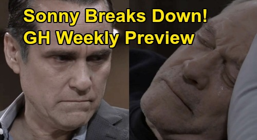 General Hospital Spoilers: Week of March 30 to April 3 Preview - Julian Beats Up Neil - Sonny Cries Over Mike End of Life Issues