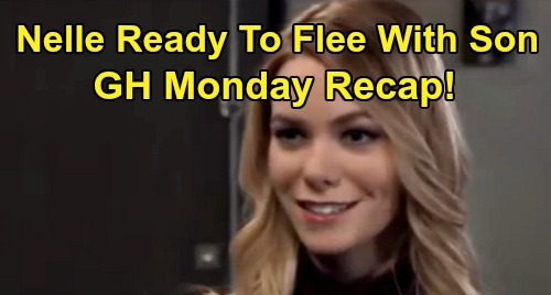 General Hospital Spoilers: Monday, February 17 Recap - Nelle Prepares To Flee PC With Wiley - Dev's Boarding School - Chase Threatens Michael
