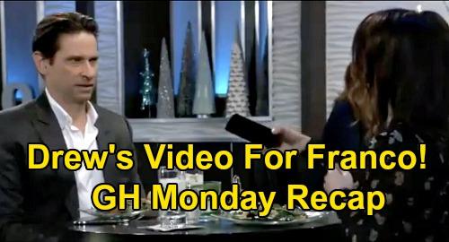 General Hospital Spoilers: Monday, January 13 Recap - Drew Left Franco a Video - Neil Loses Medical License - Lulu's Nasty Surprise