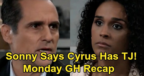 General Hospital Spoilers: Monday, March 23 Recap - Sonny Tells Jordan Cyrus Has TJ - Harmony's Shocking Message