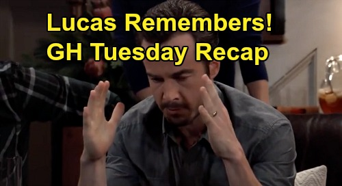 General Hospital Spoilers: Tuesday, February 18 Recap - Lucas Recalls 'Wiley' Is Michael's - Nelle Rushes To Snatch Son - Jordan & Taggert In Danger