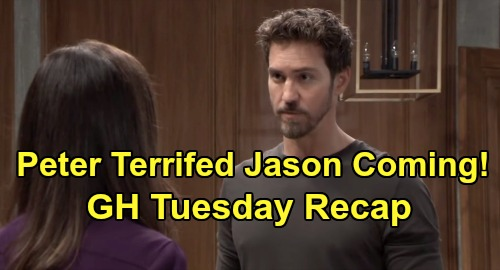 General Hospital Spoilers: Tuesday, February 4 Recap - Cyrus Renault Named In Dying Confession - Anna Breaks The Law For Peter
